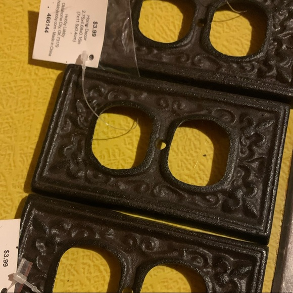 Hobby Lobby Accents Hobby Lobby Wrought Iron Outlet Covers Poshmark